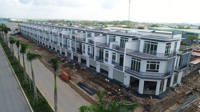 Một dự án bán đất nền và nhà phố tại Long An, giáp ranh TP HCM