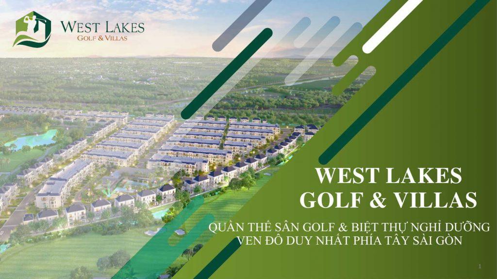 Chủ đầu tư thực sự của dự án West Lakes Golf & Villas là ai?