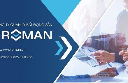 Công ty Cổ phần Quản lý Bất động sản Proman