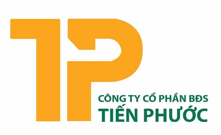 Logo của công ty bất động ản Tiến Phước